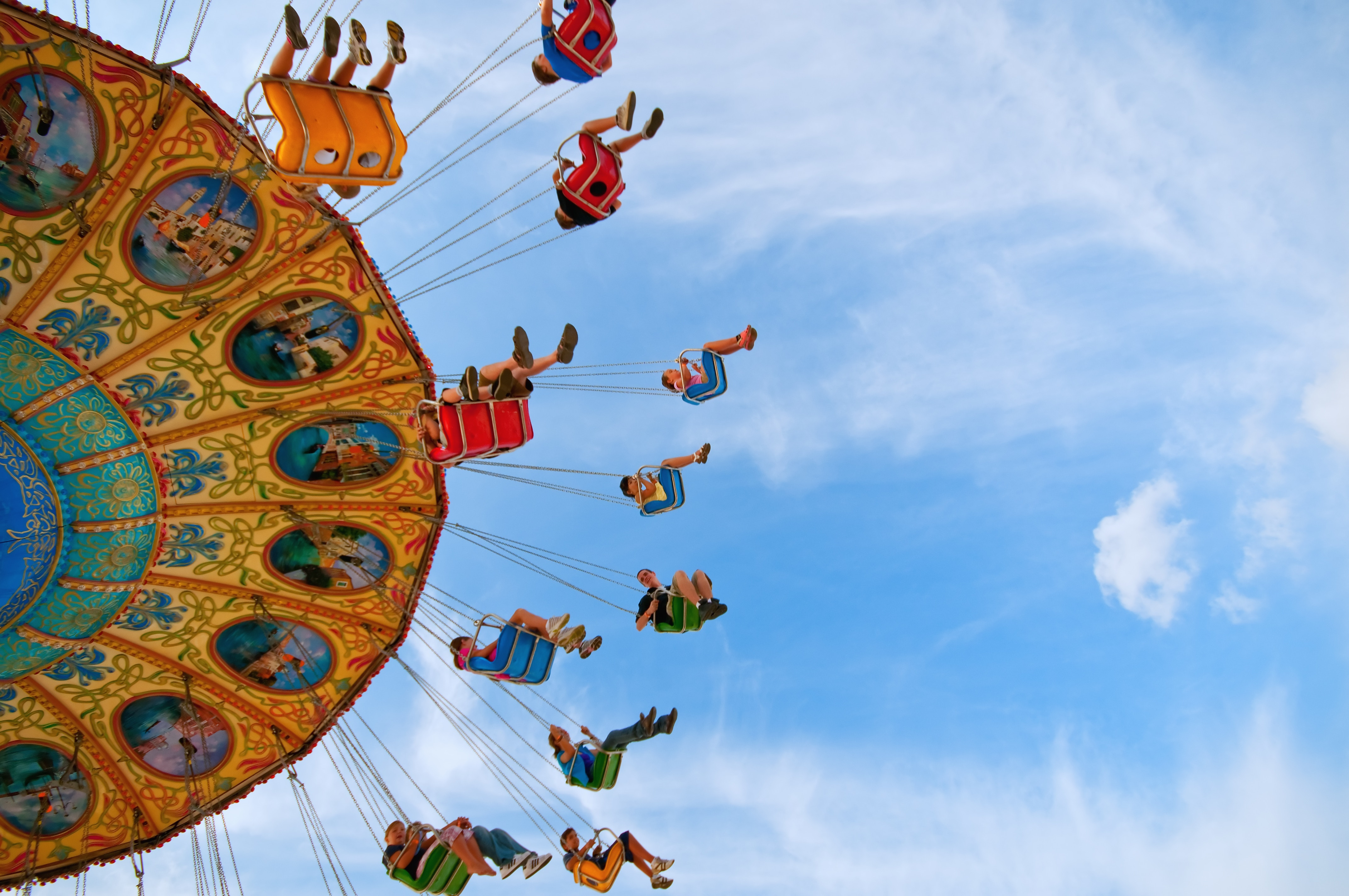 Carnival Rides use slip ring collectors